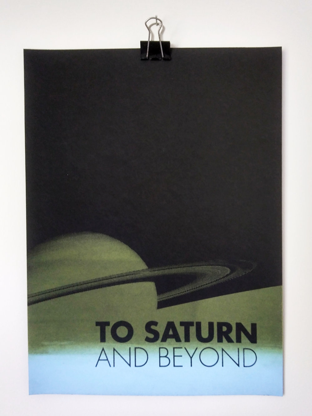 To Saturn & Beyond